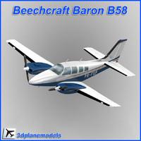 max beechcraft baron b58 private