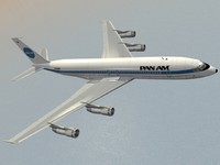 Boeing 707-300 Pan Am