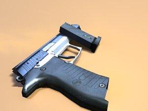 3ds max cz pistol