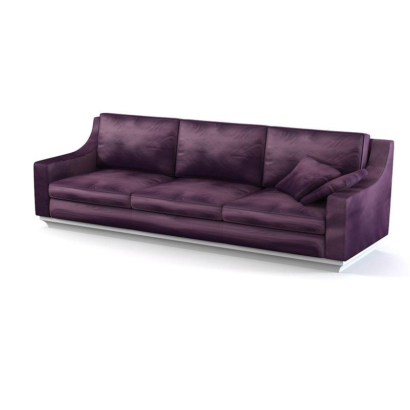 ipe cavalli sofa 3d model