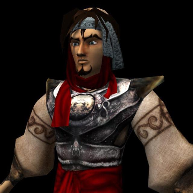 prince warrior 3d model