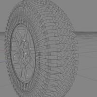 landy wheel 3d model