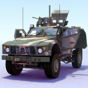 3ds 4x4 mrap jeep m-atv