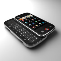 motorola cliq communicator android 3d obj