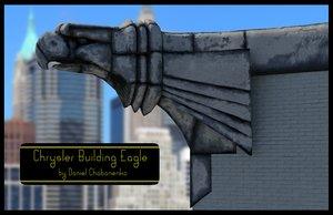 maya crysler building eagle