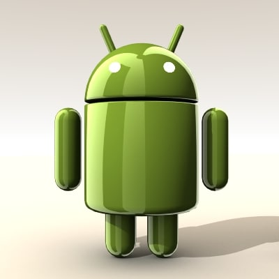 droid android 3d lwo