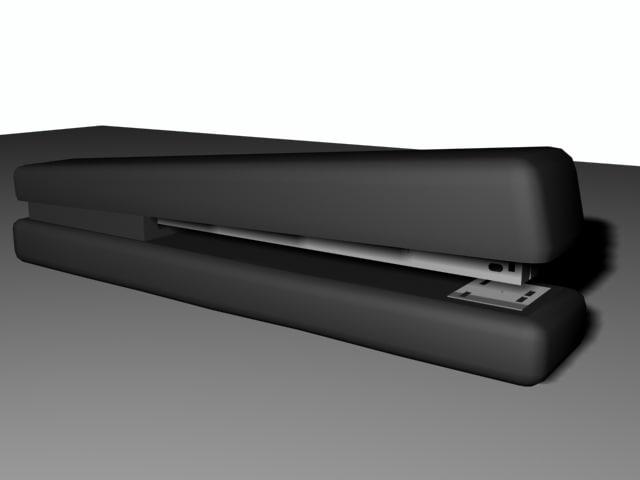 3d staple stapler