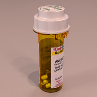 Medicine Bottle 2 Pack