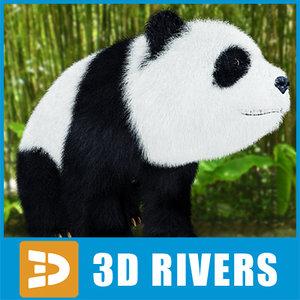giant panda 3d 3ds