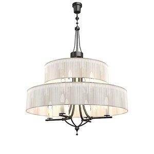 baga chandelier 3d model