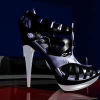 3d model sexy heels hi-heels