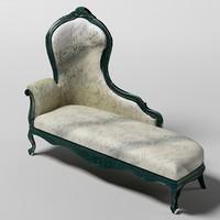 classic chaise lounge di liddo and perego moda sofa