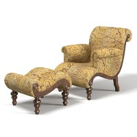 Drexel Heritage Hathaway chair ottoman