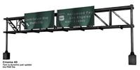 3d model freeway sign