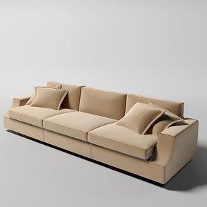 giorgetti astor contemporary 3d model