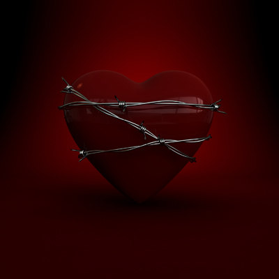 3ds max heart wire