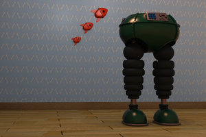wrong trousers 3d model