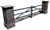 3d model of gate