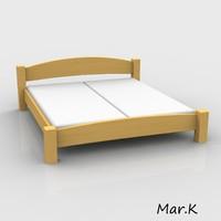 3ds marek double bed