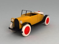 classic toy car 3d 3ds
