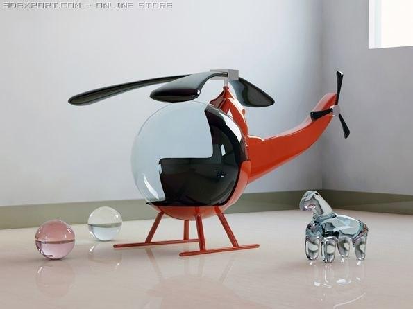 max interior scene helicopter