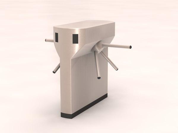 3ds max turnstiles solidworks