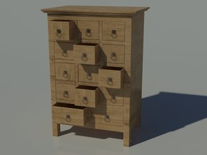 furniture wood 3d max