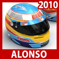 3d model 2010 formula 1 fernando