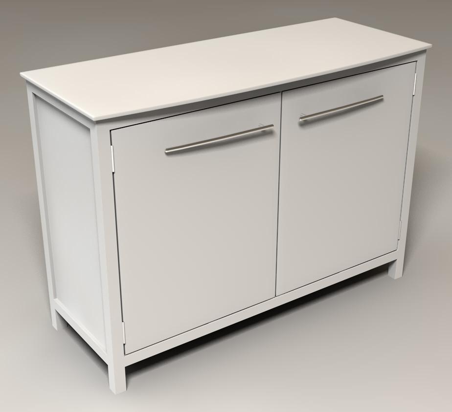 cabinet doors 3d model
