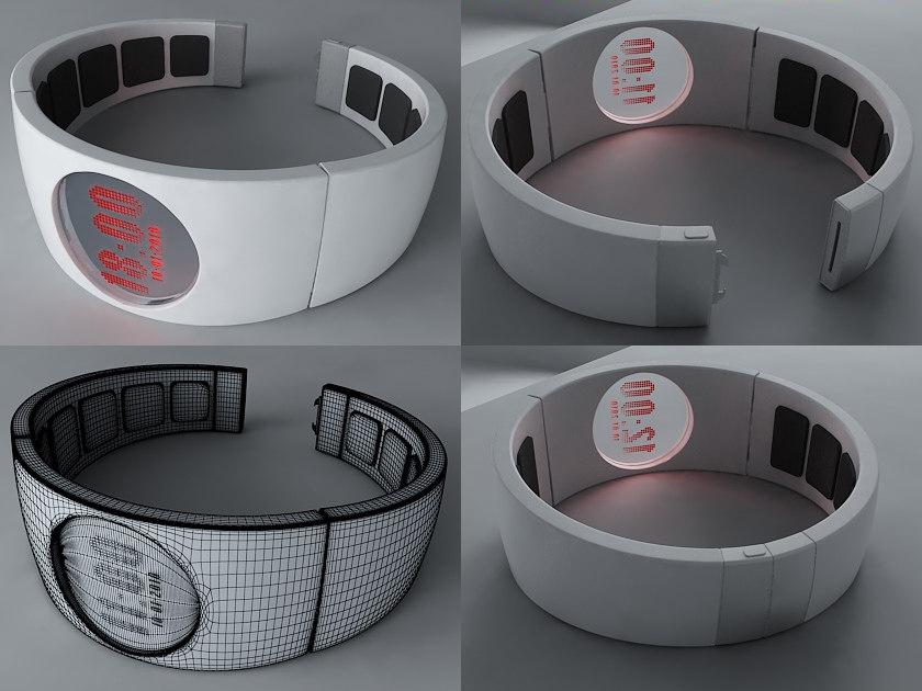 3d concept watch