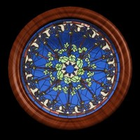 stained glass window 3d model