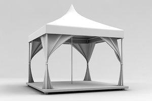 arbor terrace 3d model