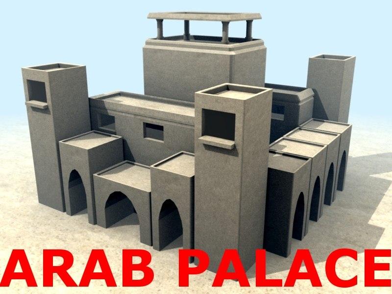 3ds arab palace