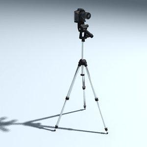 3ds camera tripod