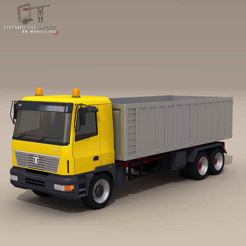 3d truck construction