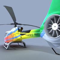 eurocopter 130 ec 3d model