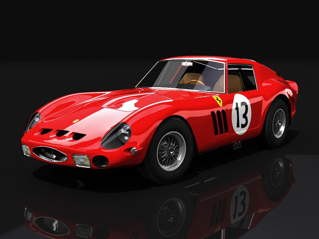 250 gto 1963 3d max