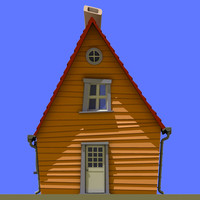 cartoon house 01