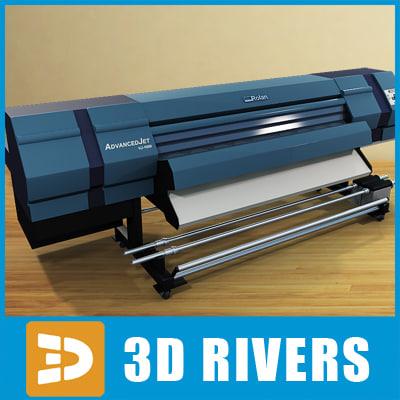 3d plotter graphics computer model