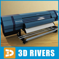 3d plotter graphics computer model
