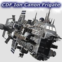 CDF Ion Canon Frigate