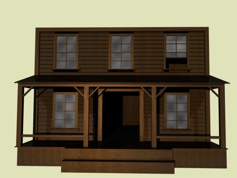 free blend model western saloon