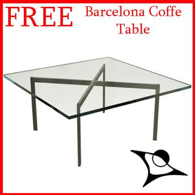 free max model barcelona coffe table