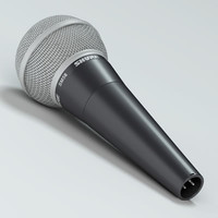 3ds max microphone shure