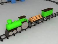 3d toy railroad