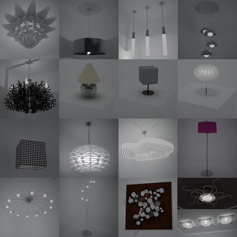 interiors light 3d model