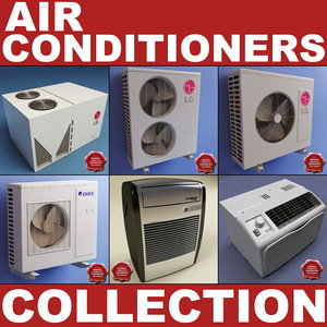 air conditioners v2 c4d