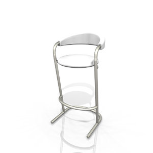 fmz cort banana bar stool
