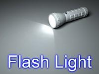 led flash light 3d max