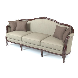 classic sofa italy obj
